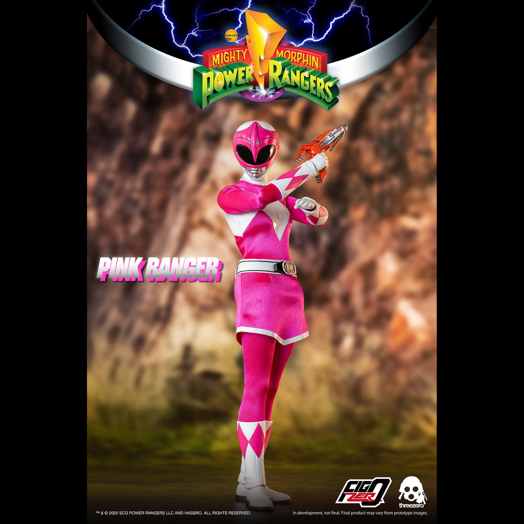 Mighty Morphin Power Rangers Pink Ranger Collectible Figure 1/6 Scale By Threezero