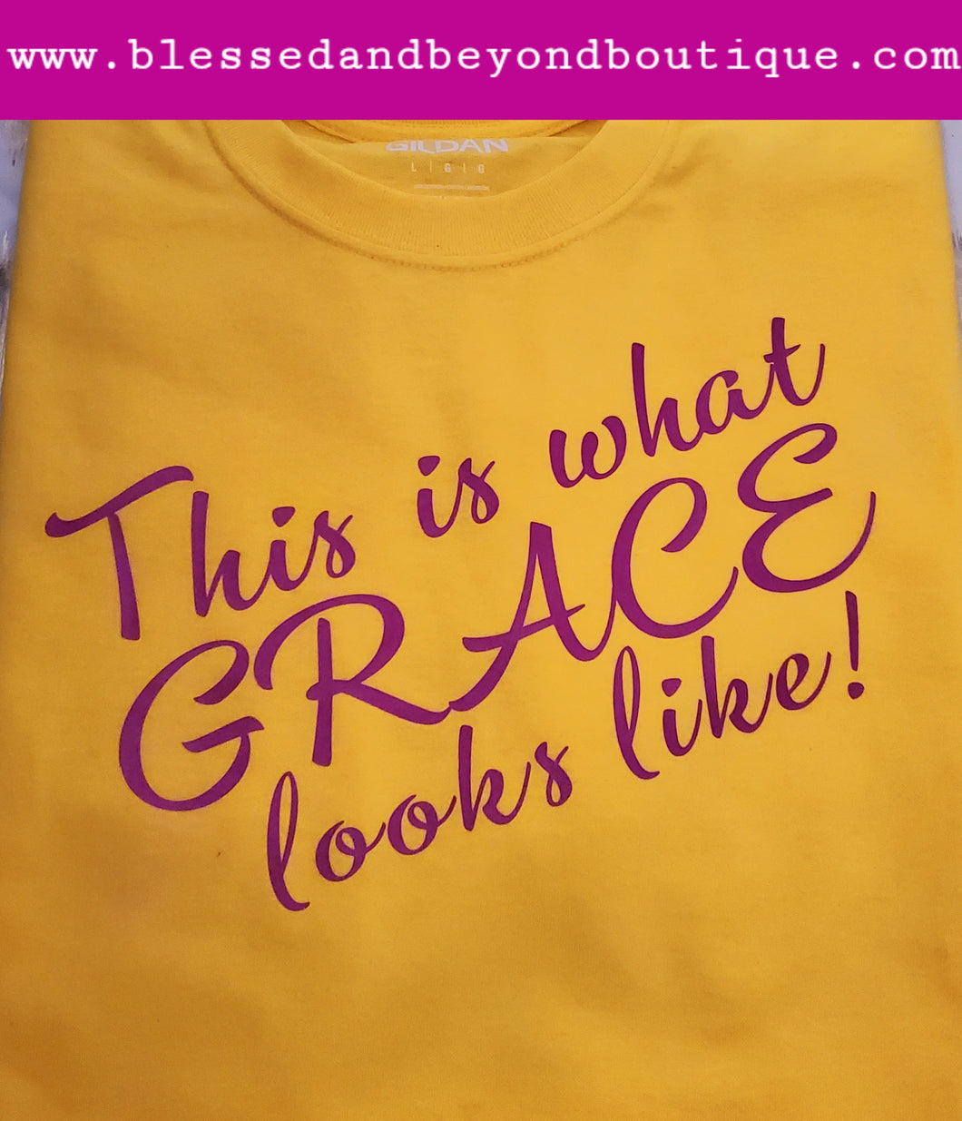 This is what GRACE looks like T shirt