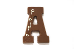 Dutch Chocolate Letter