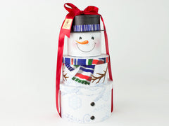 Snowman Gift Tower