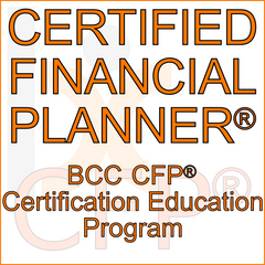 BCC CFP® Certification Education Program