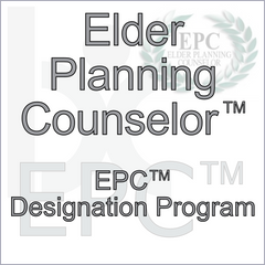 Elder Planning Counselor Designation Program