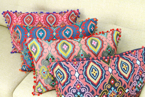 Choice of 4 Embroidered Cushions