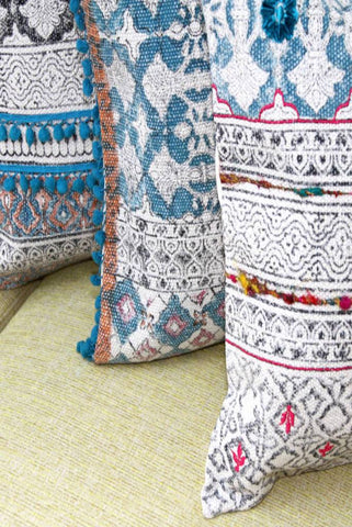 Set of 3 Tribal Indian Cushions