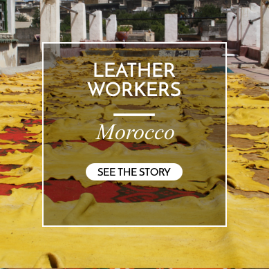 leatherworkers morocco