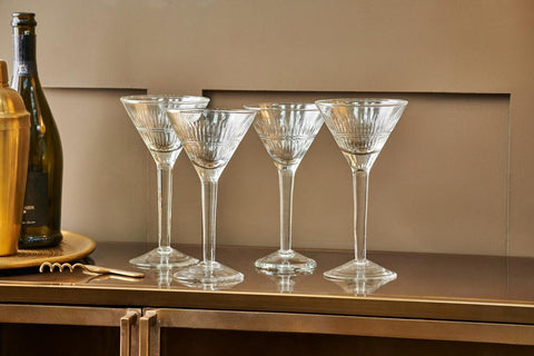 Recycled Cocktail Glasses