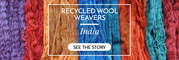 recycled wool weavers india