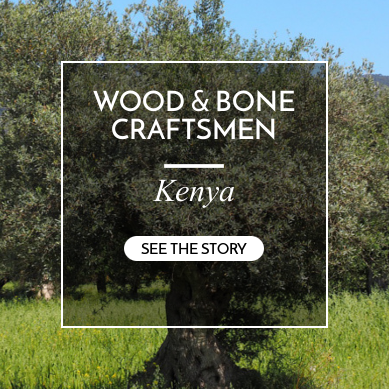 wood and bone craftsmen kenya