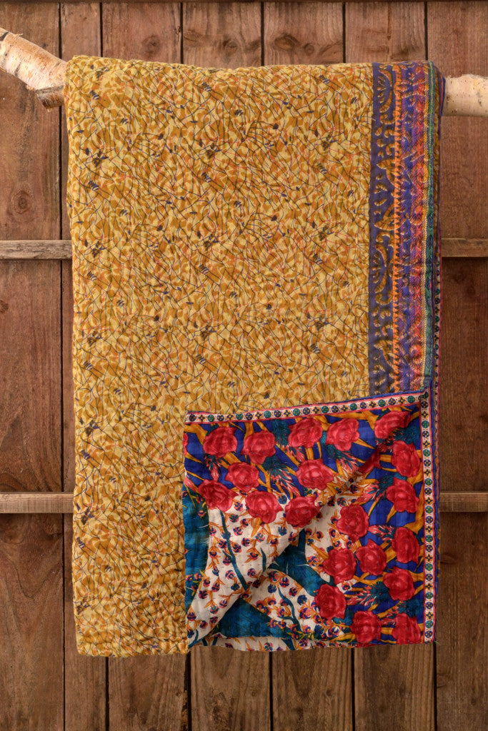Kantha Quilt 15: by Shati