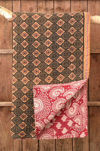 Kantha Quilt 16: by Rina