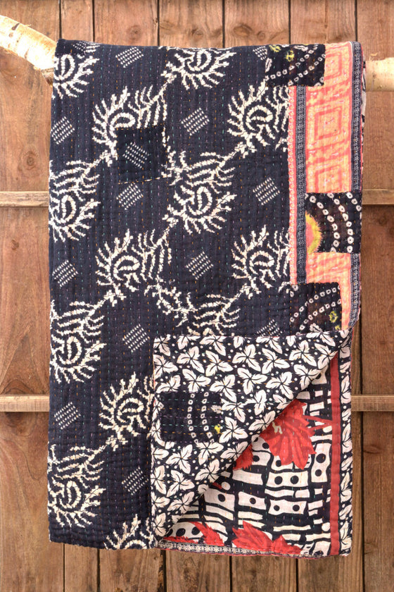 Kantha Quilt 20: by Amina