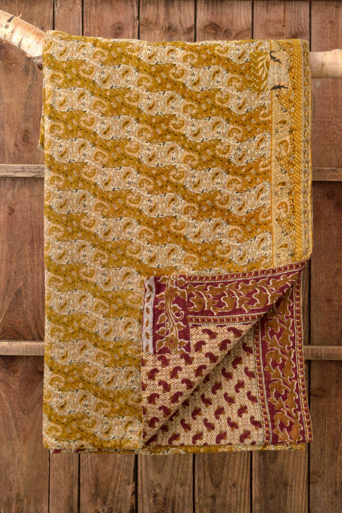 Kantha Quilt 6: by Asma - Sold - Decorator's Notebook