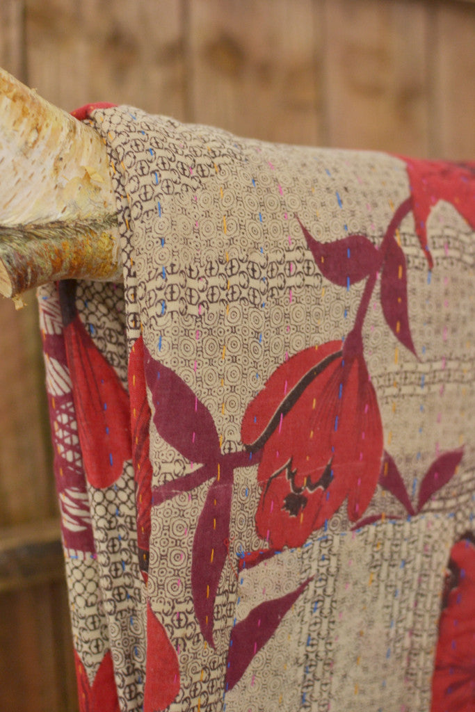 Kantha Quilt 7: by Shima
