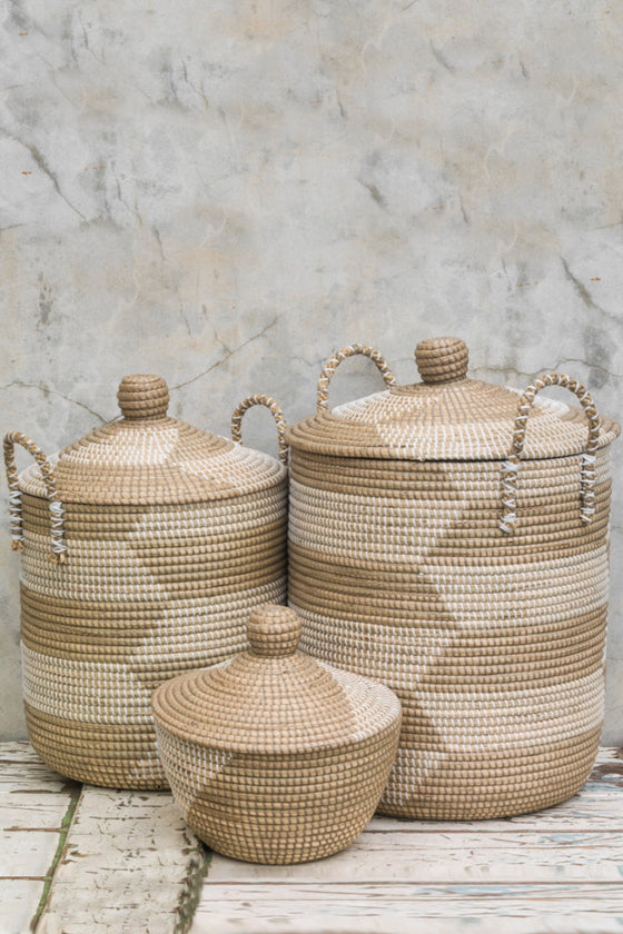 Ali Baba baskets: set of three