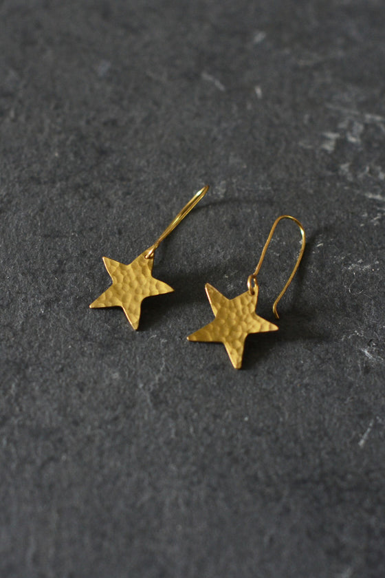 Star Earrings - Jewellery - Decorator's Notebook