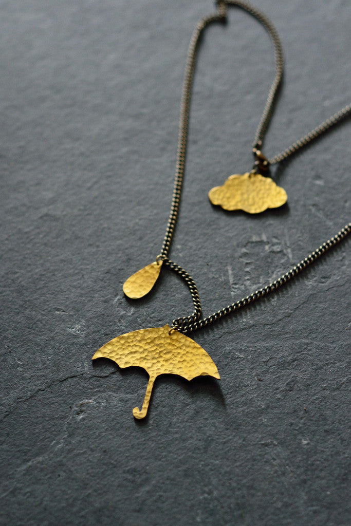 Umbrella Necklace