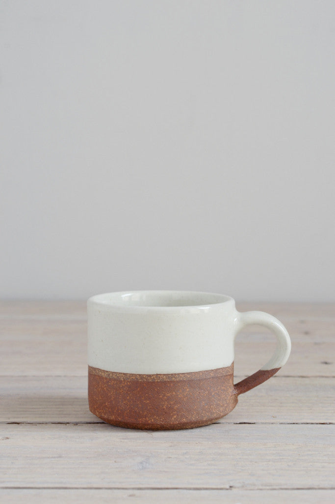 Dipped terracotta espresso mug: small - Kitchen and Tableware - Decorator's Notebook