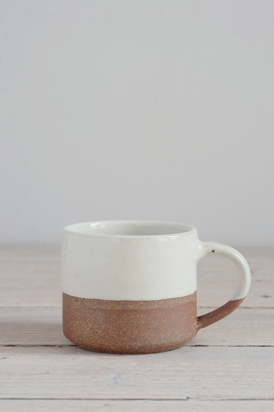 Dipped terracotta espresso mug: large - Kitchen and Tableware - Decorator's Notebook