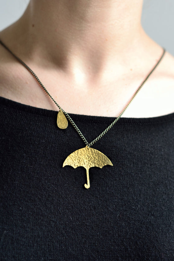 Umbrella Necklace - Jewellery - Decorator's Notebook