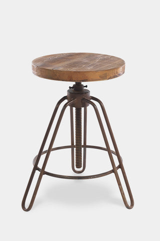 'Jadida' adjustable industrial stool