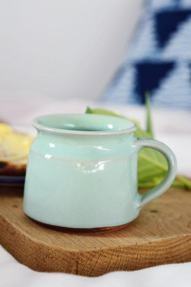 Short coffee cup: jade green - Kitchen and Tableware - Decorator's Notebook