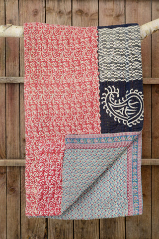 Kantha quilt 14: by Shati