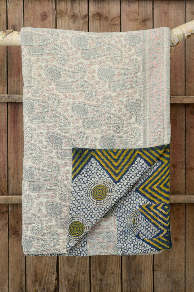 Kantha quilt 7: by Mageda - Sold - Decorator's Notebook