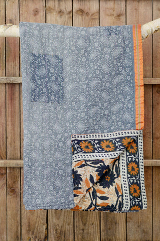 Kantha quilt 13: by Shima