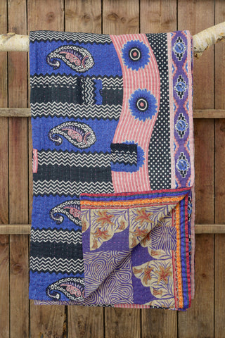 Kantha quilt 5: by Asma