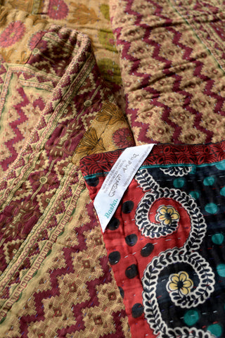 Kantha quilt 15: by Amena