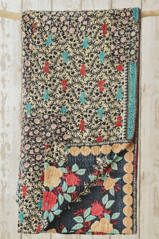 Kantha Quilt 3: by Sathi
