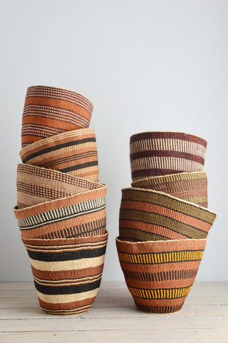 Kenyan basket: Earth Collection