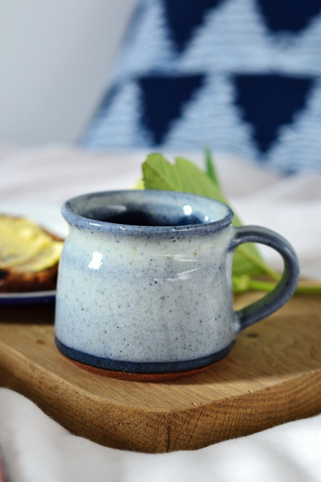 Short coffee cup: ocean blue - Kitchen and Tableware - Decorator's Notebook