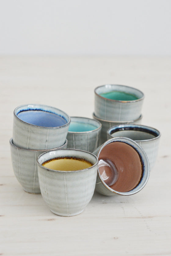 Oriental tea cups (sold individually)