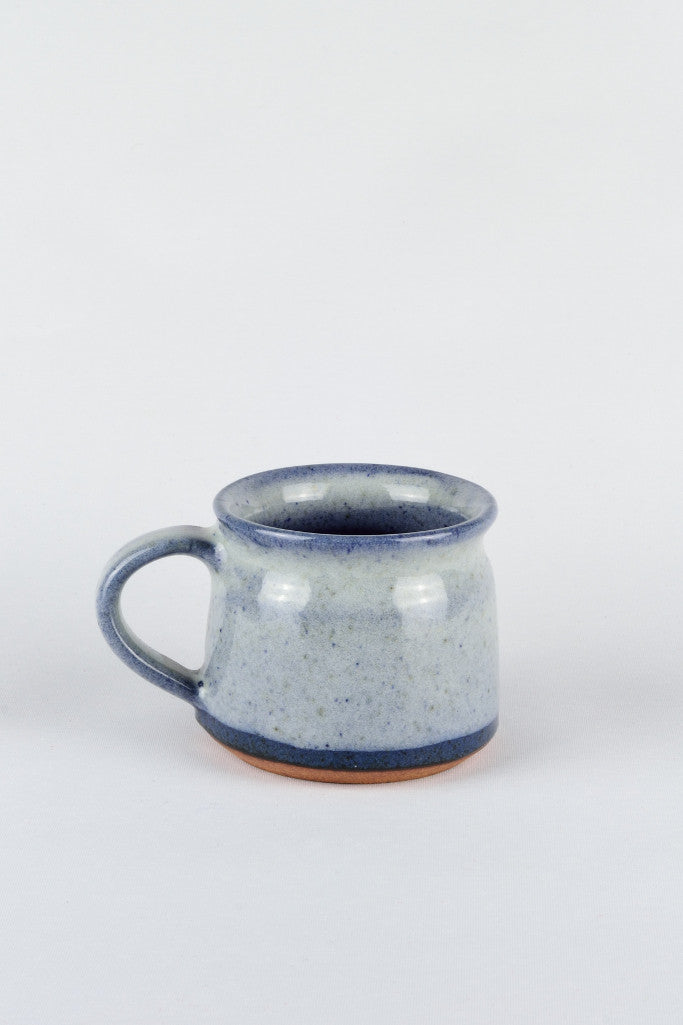 Short coffee cup: ocean blue