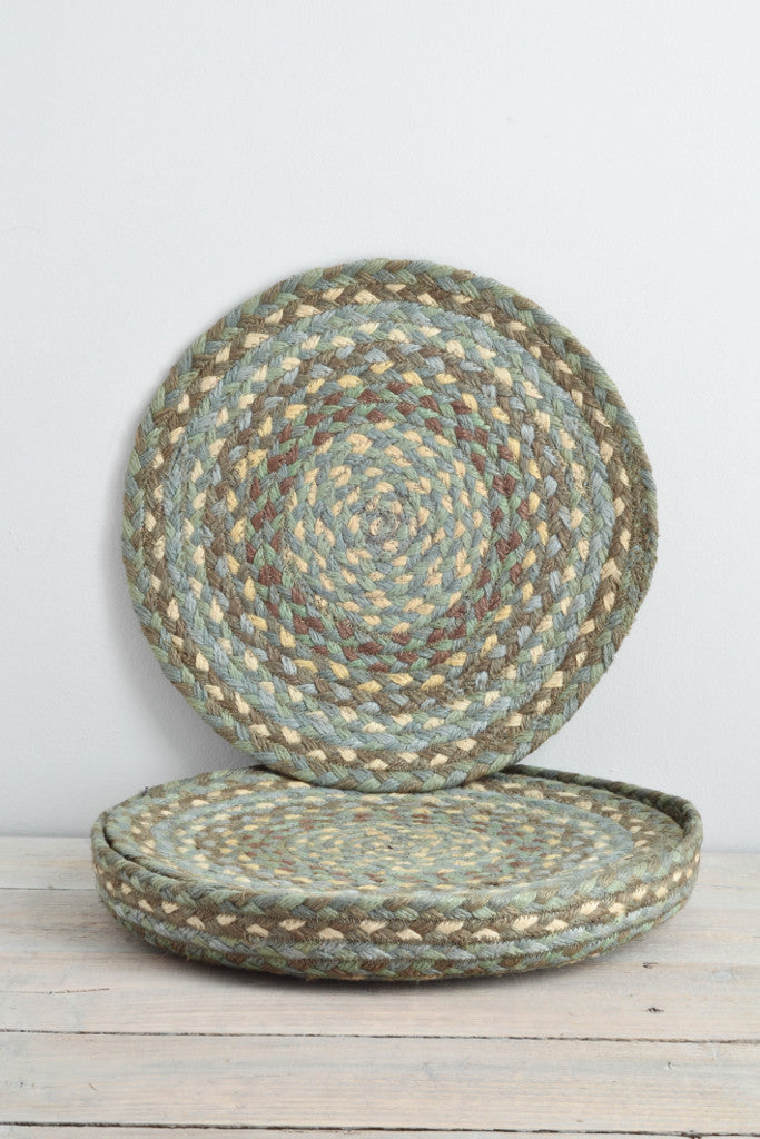 Seaspray braided placemats: set of six - Kitchen and Tableware - Decorator's Notebook