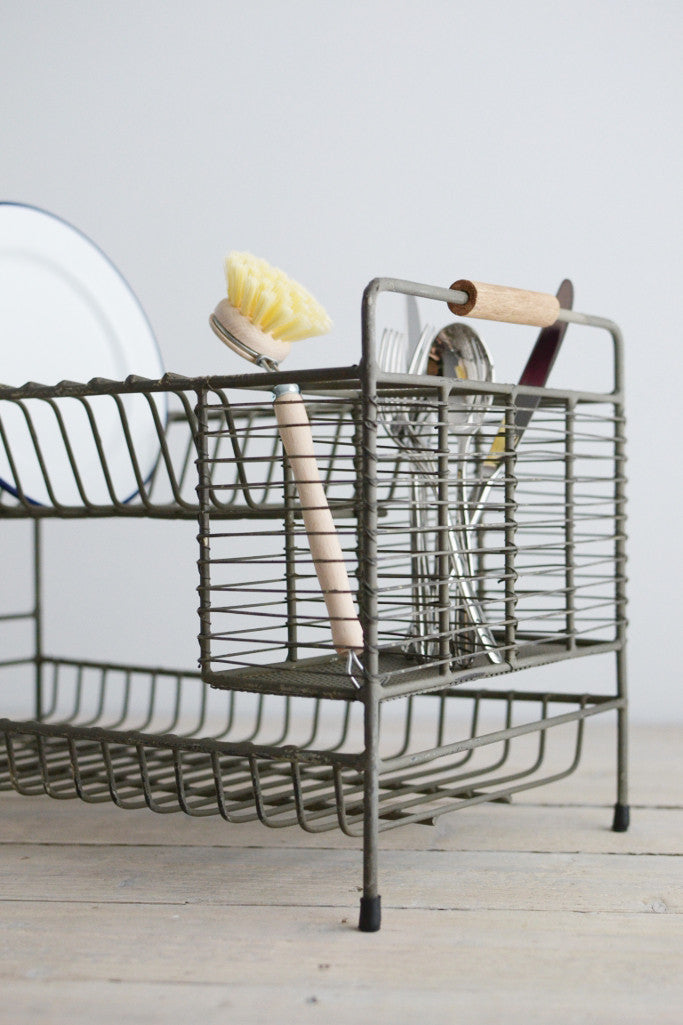 Marvelous Vintage Wire Plate Rack Ideas - Best Image Engine . : vintage plate rack - pezcame.com