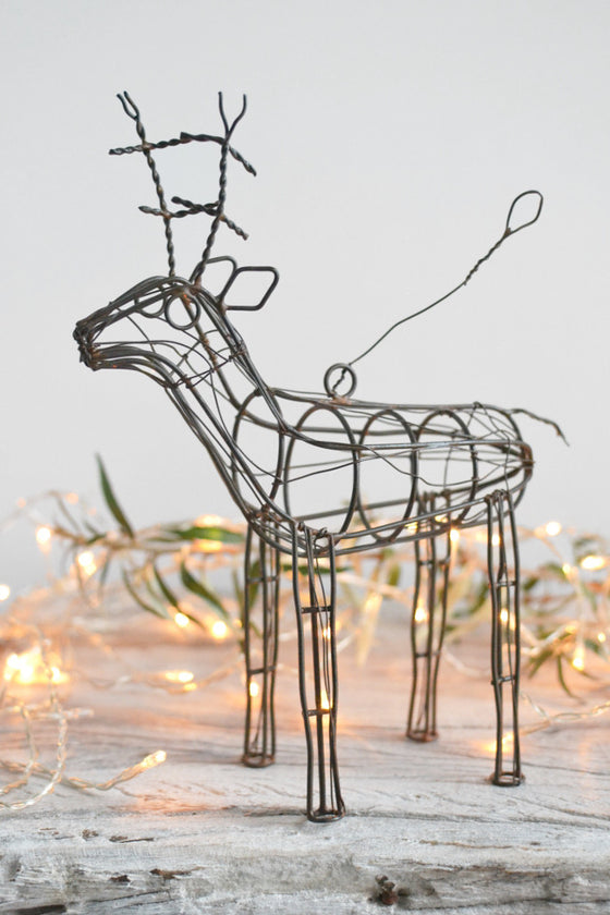 Rusty Reindeer Decoration