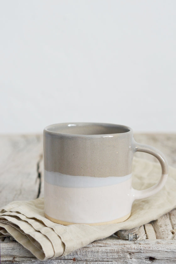 Tonal mug: Linen - Kitchen and Tableware - Decorator's Notebook