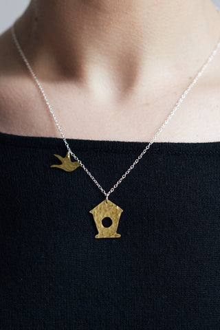 Bird Box Necklace