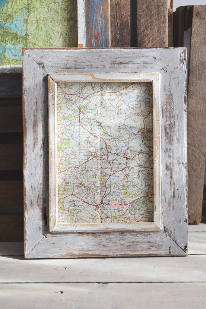 Rustic wood picture frame large: four colours - Pictures and Frames - Decorator's Notebook