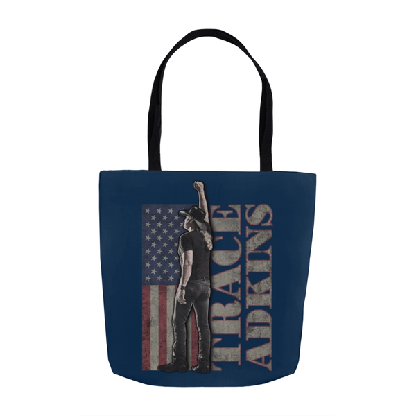 Flag Tote Bag (Navy)