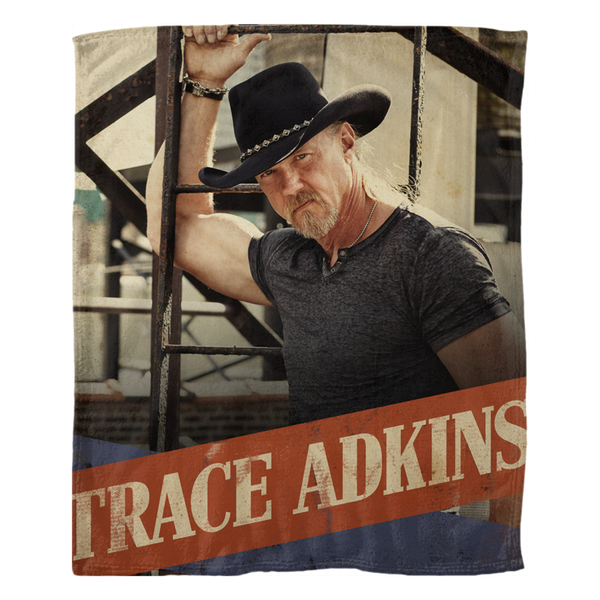 Trace Adkins Fleece Blanket