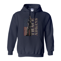 Trace Adkins Flag Hooded Sweatshirt