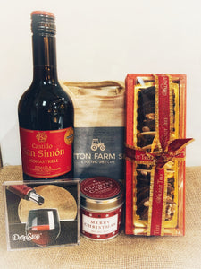 Wine and chocolate heaven hamper