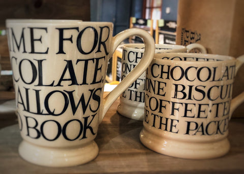 Emma Bridgewater black toast mugs