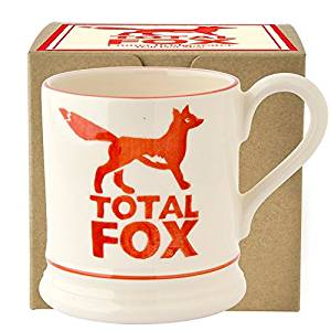 Total fox Emma Bridgewater mug