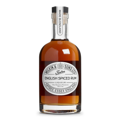 English spiced rum liqueur
