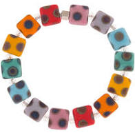 Carrie Elspeth Dotty squared bracelet