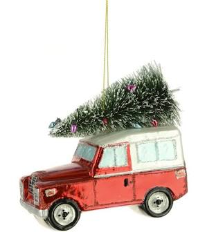 Land rover decoration - Red